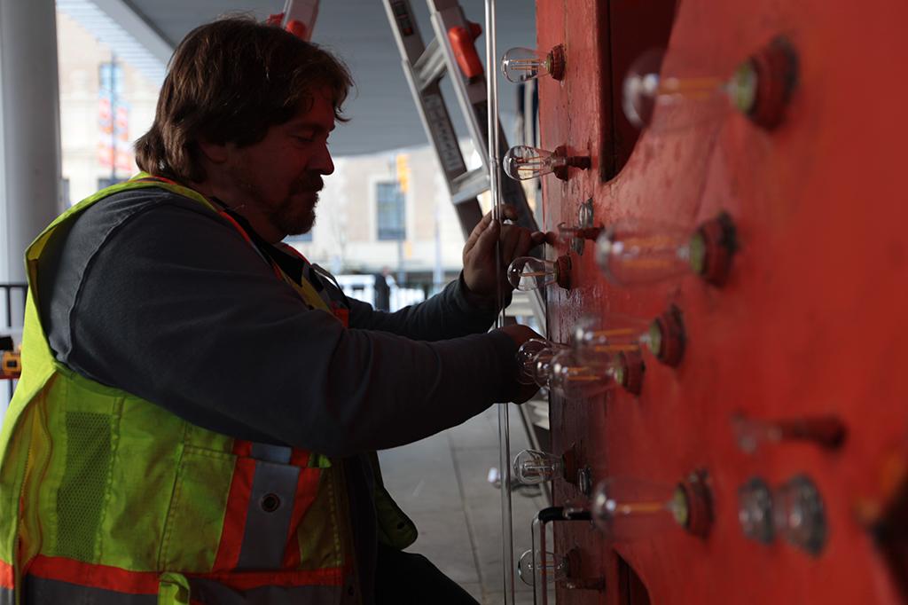 Lumiere Vancouver Ridge Theatre Neon Sign Conservation Work